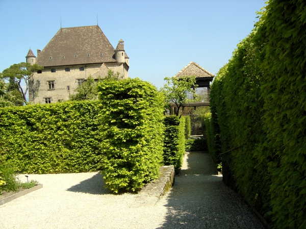 Yvoire for Le jardin des 5 sens